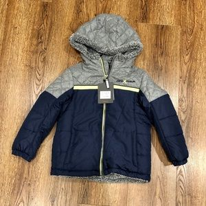 NWT Boys Size 7 Warm Jacket